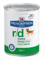 Hill´s Prescription Diet Canine r/d 12 x 350 g Dosen