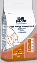 SPECIFIC Food Allergy Management 2,5 kg CDD Hund