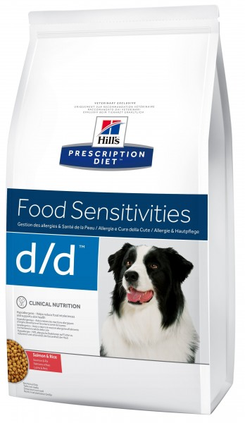 Hill´s Prescription Diet Canine d/d Lachs & Reis 12 kg
