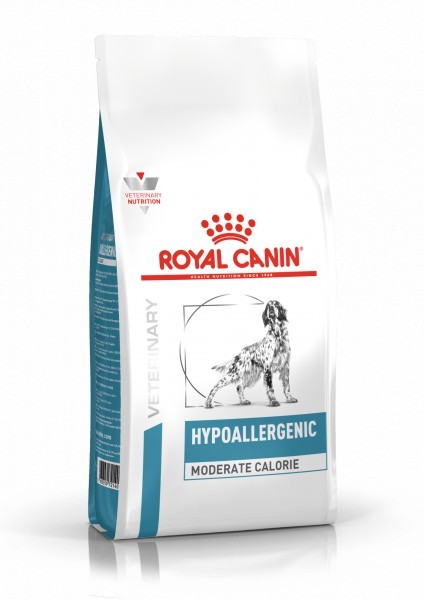 Royal Canin Hypoallergenic moderate calorie 7 kg Hund