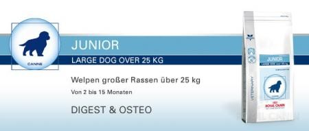 Royal Canin Junior Large Dog 4 kg Digest & Osteo