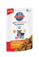 Hill´s VetEssentials Feline NeuteredCat Young Adult FB 12 x 85 g Huhn