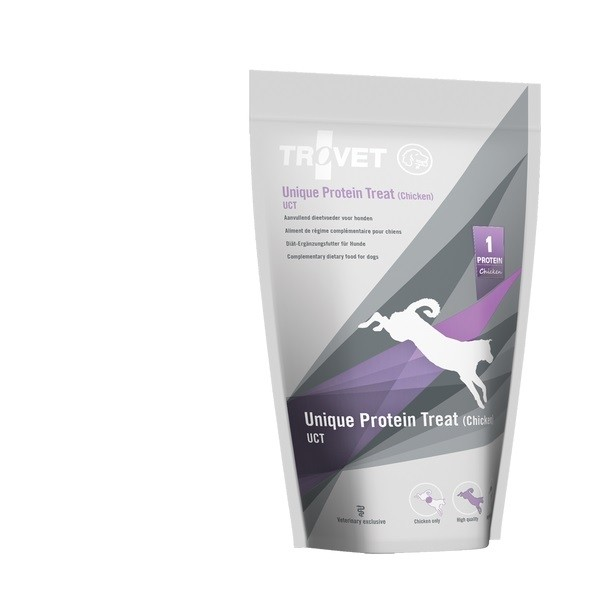 Trovet UCT / Unique Protein Treats Chicken Hund 125 g