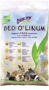 BED O'LINUM Original Leinen-Natureinstreu 35 L