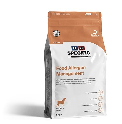 SPECIFIC Food Allergy Management 12 kg (hydr) CDD-HY Hund