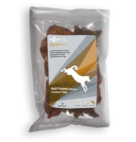 Trovet Hund Multi Purpose Ostrich Treats MOT Strauss 150 g