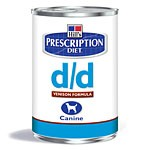 Hill´s Prescription Diet Canine d/d Ente & Reis 12 x 370 g Dosen